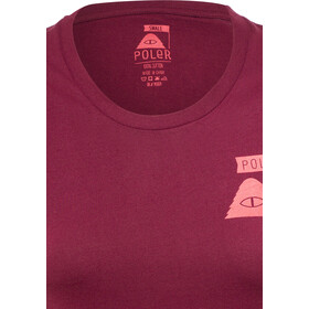 POLER Summit Koszula z krótkim rękawem Kobiety, sweet berry wine